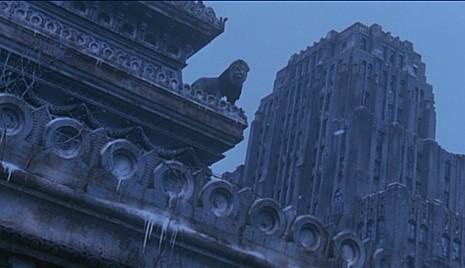 טרי גיליאם - 12 קופים, אורבניות נטושה.
