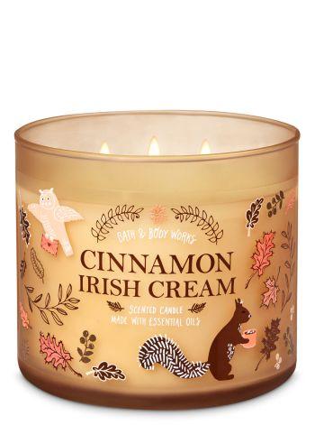 Cinnamon Irish Cream 3-Wick Candle - Bath And Body Works