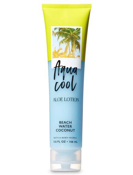 Signature Collection Beach Water Coco Aqua Cool Loción de Aloe - Bath And Body Works