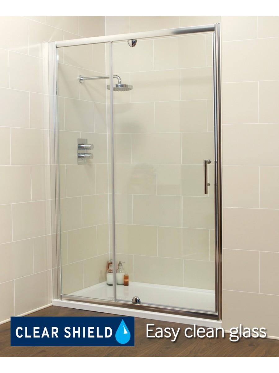Kyra Range 1100 Pivot Shower Door Inline Shower Enclosure Adjustment 1060 1120mm Special Offer