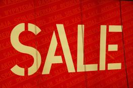 Sale Banner courtesy of Martin Abegglen @ Flickr