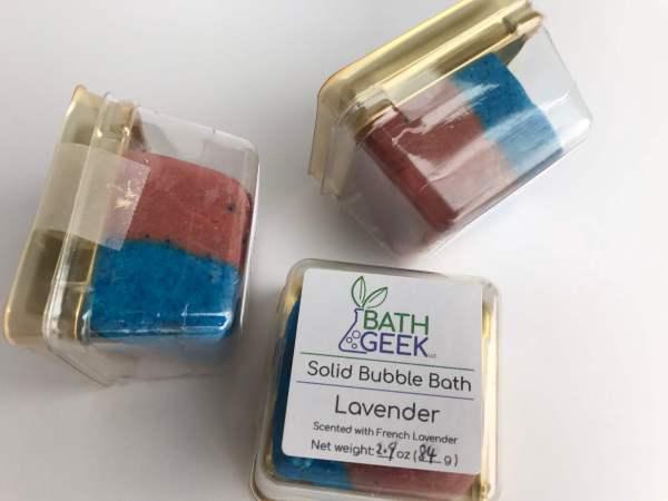 Lavender Bubble Bath - Package