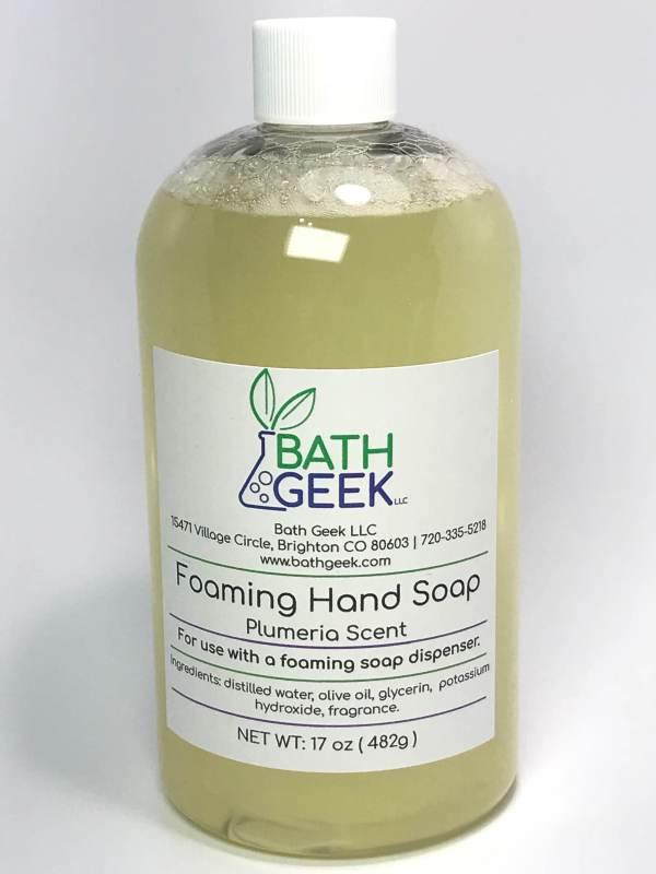 Plumeria Foaming Hand Soap Refill