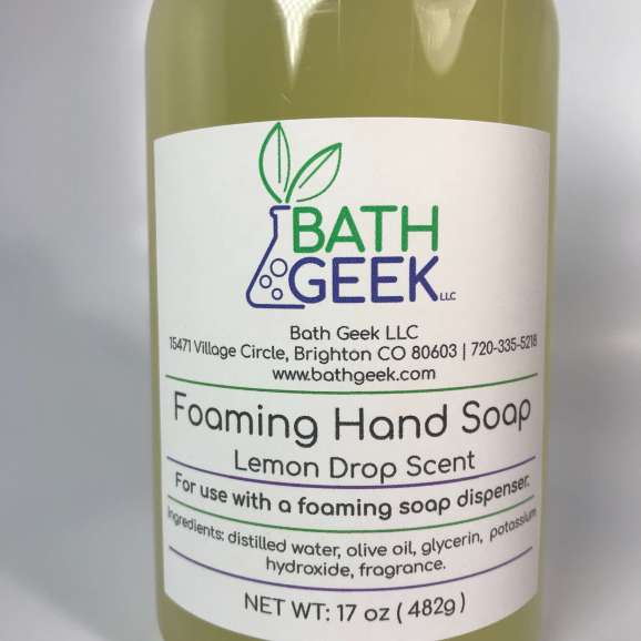 Lemon Drop Foaming Liquid Soap