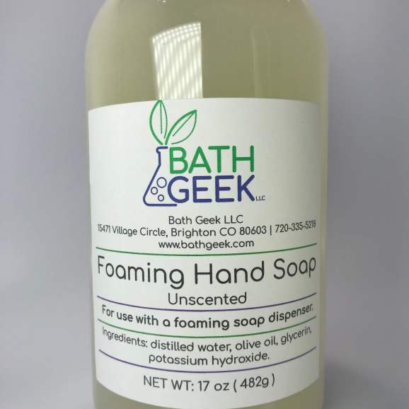 Unscented Foaming Soap