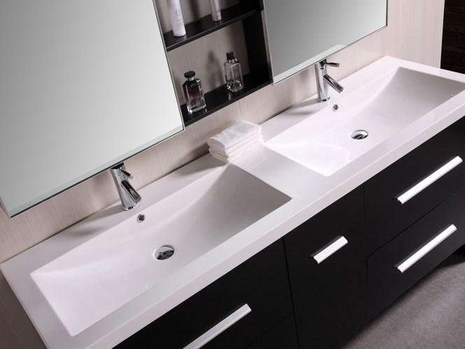 Sink On Top Of Vanity Vanity Top Tiled Top Mounted SinkVanity Top