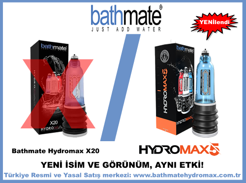 Bathmate Hydromax X30 adı Hydromax 5 oldu.