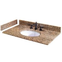 Pegasus PE42649 20-Inch Montesol Granite Side Splash For Granite Vanity Top