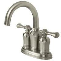 Pegasus 67113-8004 Verdanza Series Two-Handle Lavatory Centerset Faucet, Brushed Nickel