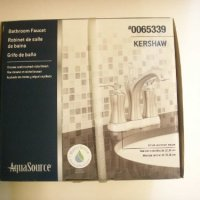 AquaSource Bathroom Faucet #0065339 KERSHAW BOX.