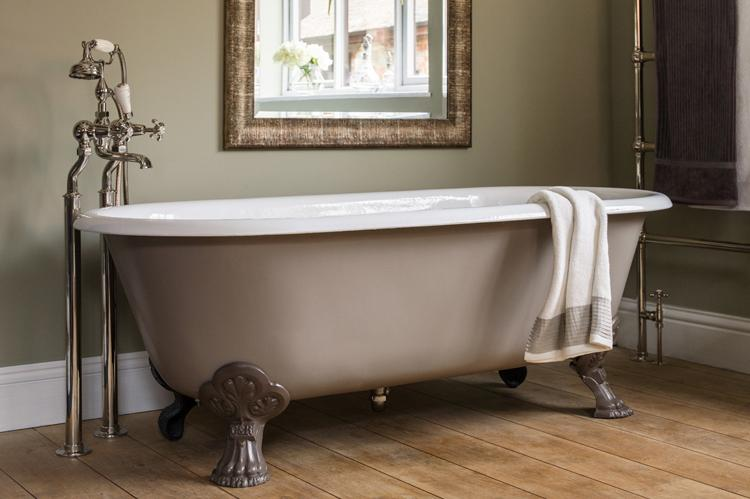 Cast Iron Free Standing Bath Bathroom Fitters Bristol