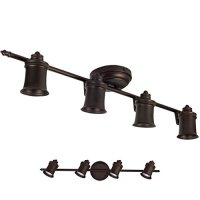 Oil Rubbed Bronze 4 Light Track Lighting Wall & Ceiling Mount Fixture
