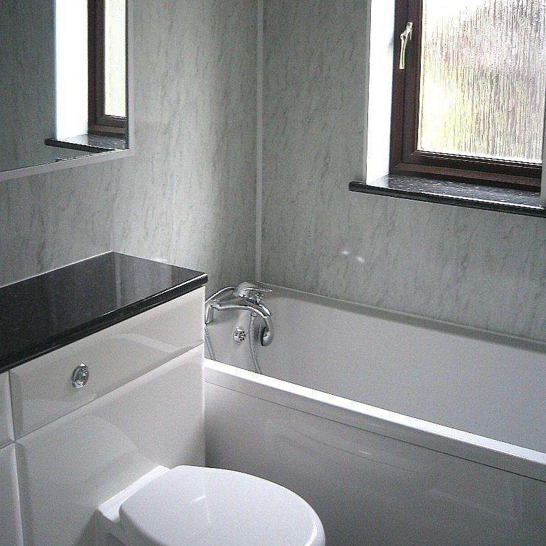 Bathroom Plastic Wall Covering
