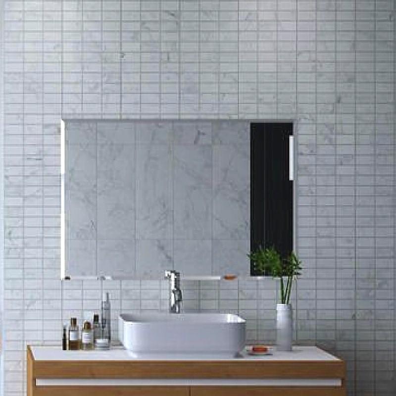 carrara white marble mosaic bathroom panels