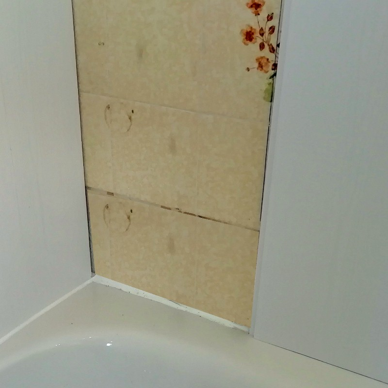 can you panel over tiles everything