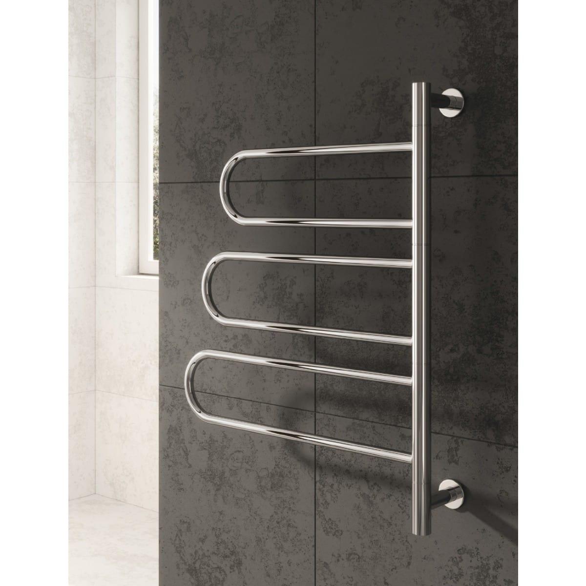 reina orne dry electric heated towel rail