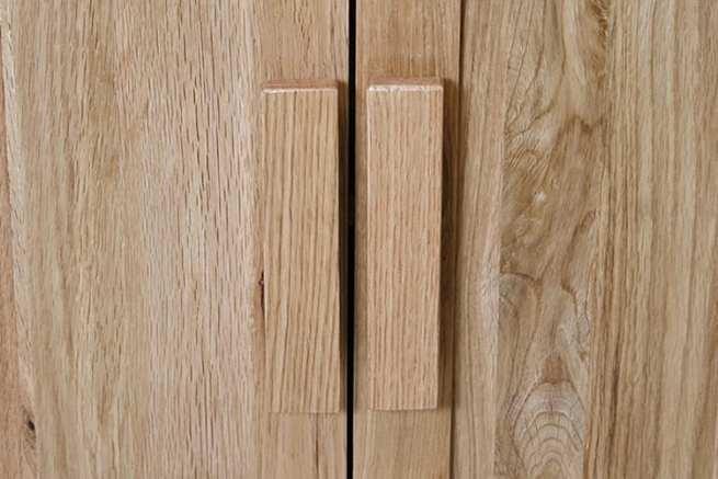 Wooden Vanity Unit Handles