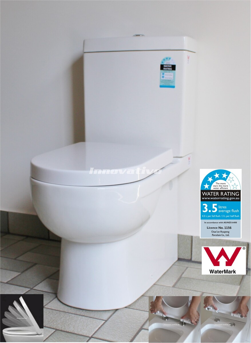 Back To Wall Ceramic Toilet Suite Traditional Design SampP