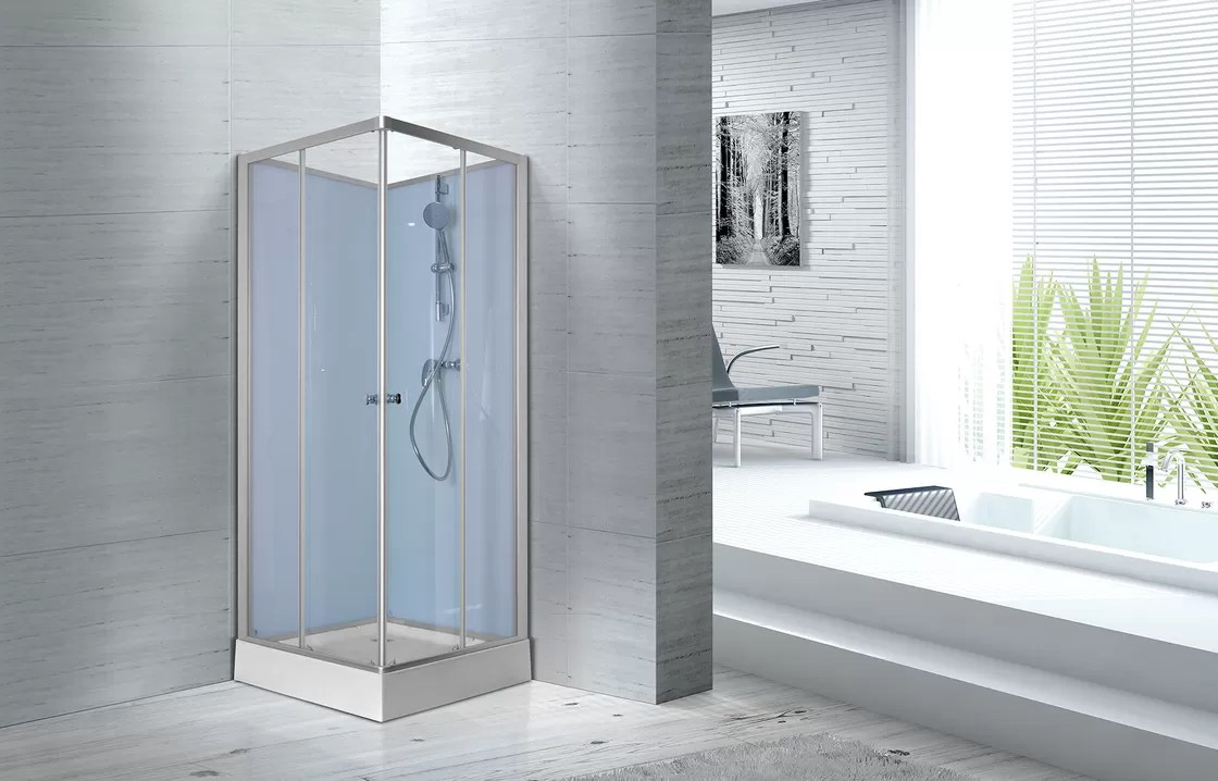 Fitness Halls 800 X 800 X 2250mm Glass Shower Stalls With