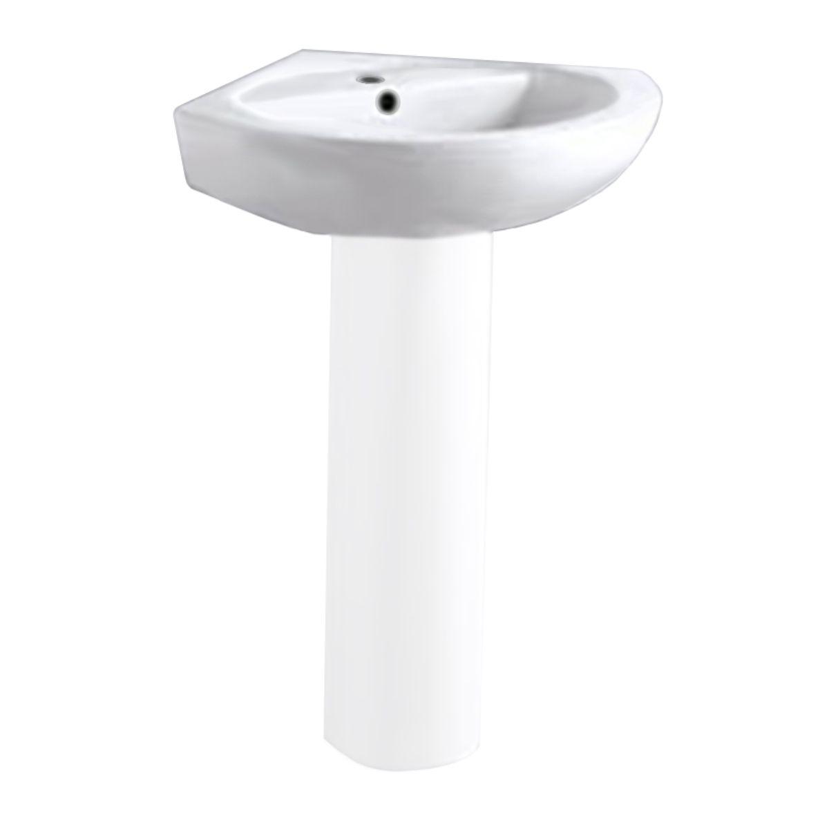 york 1 tap hole corner basin