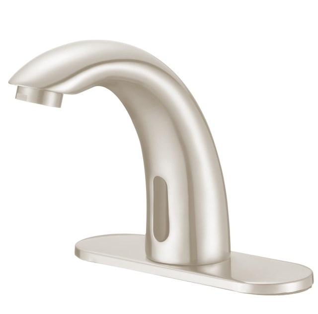 Best Price Brushed Nickel Motion Sensor Faucets