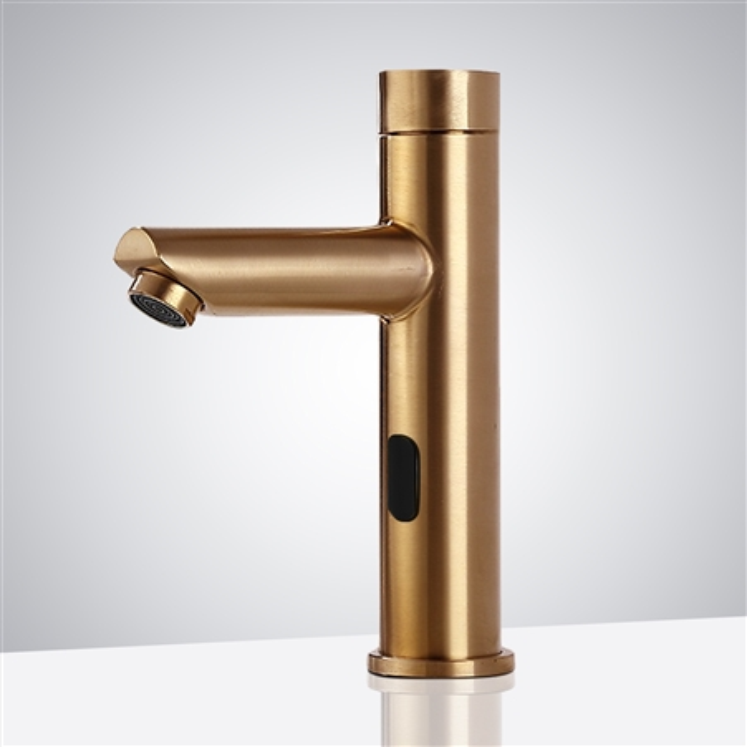 solo gold tone automatic commercial sensor faucet
