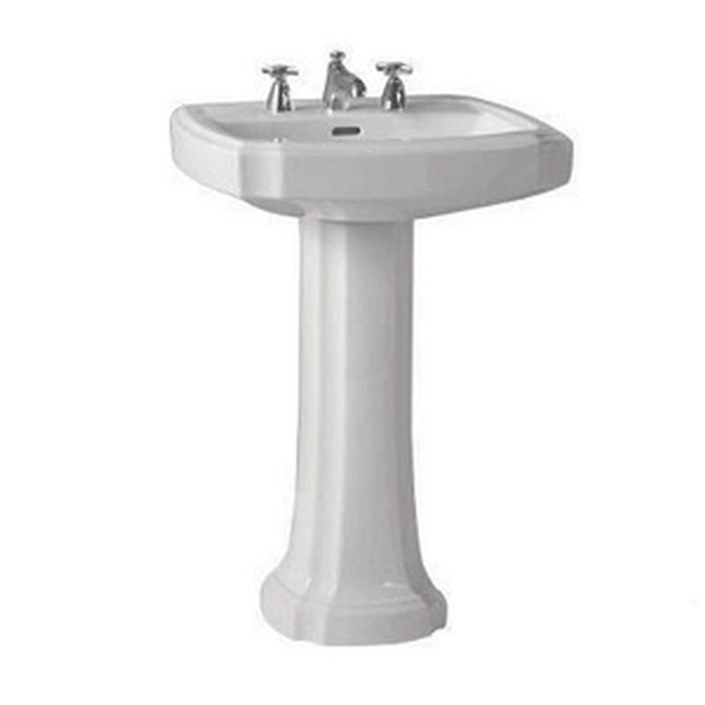 guinevere pedestal foot colonial white
