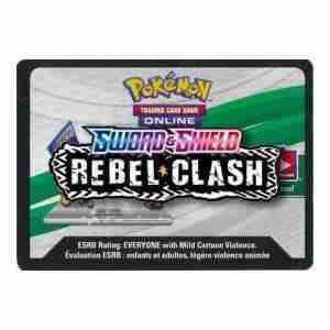 Pokemon TCG Online Code Sword & Shield Rebel Clash