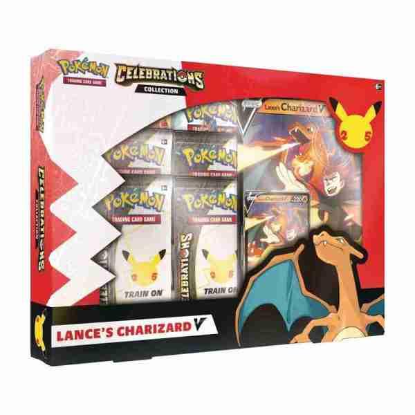 Pokemon TCG: Celebrations V Box - Lance's Charizard V