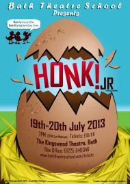 Honk Poster Bath Theatre School