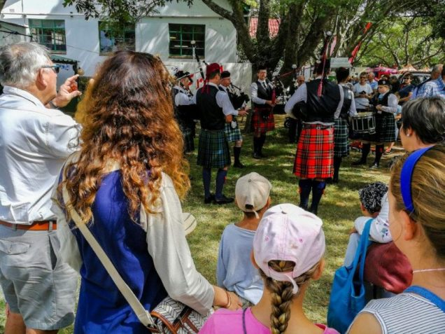 Old Andrean Pipe Band