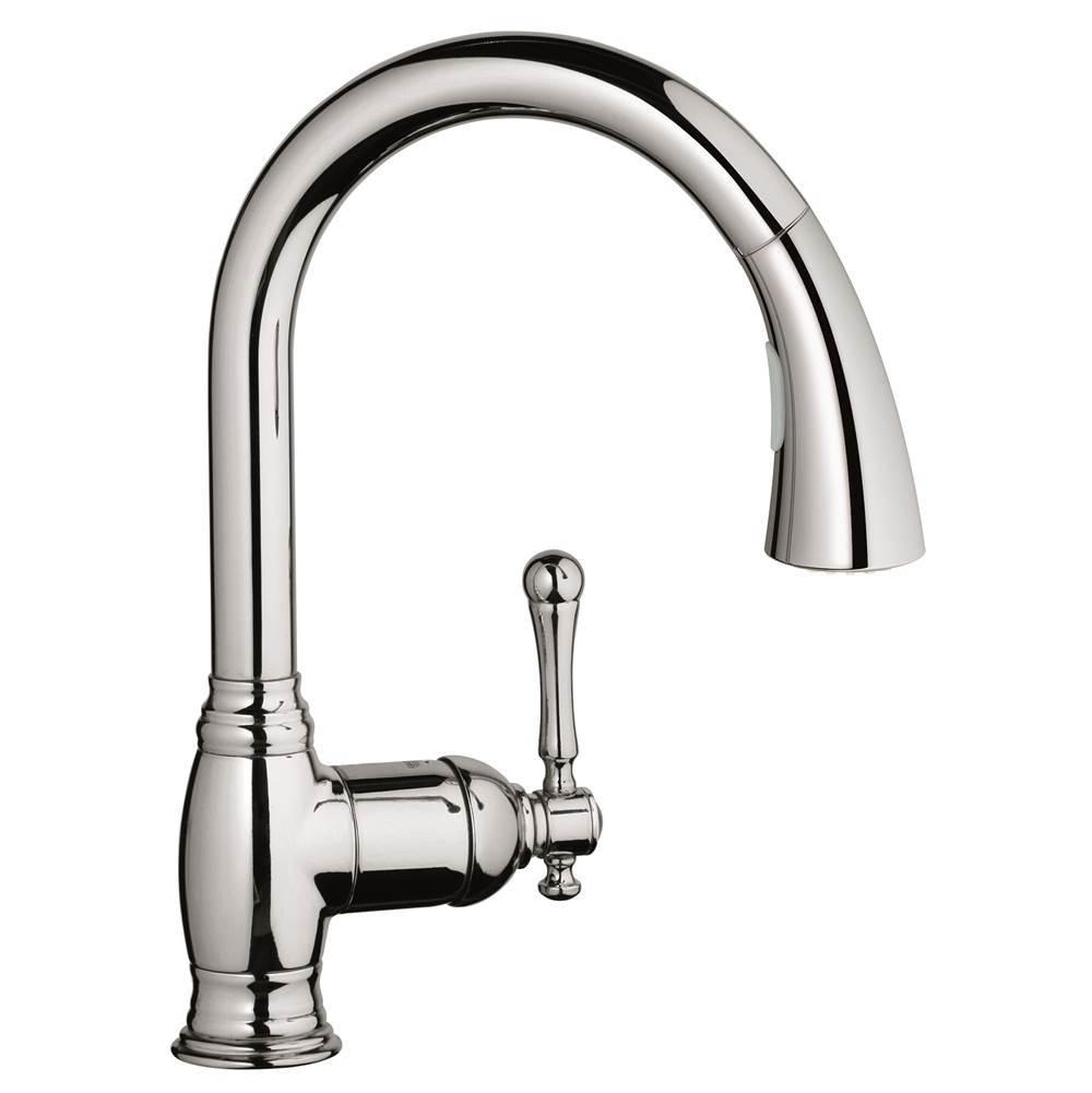 bridgeford kitchen faucet pull down