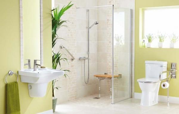 Salle de bain adaptée pour PMR