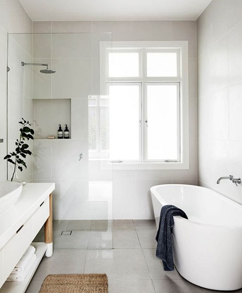 combien doit mesurer une salle de bain