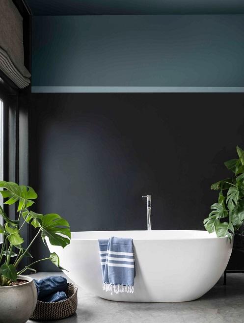 peinture pour une salle de bain