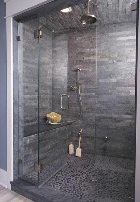 une douche a l italienne avec receveur