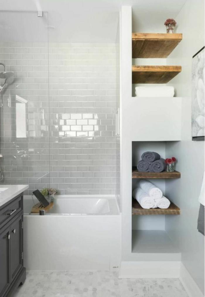 manque de place dans une salle de bain