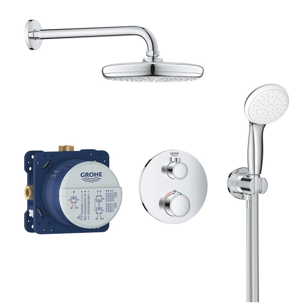robinet douche encastrable grohe grohtherm 1000