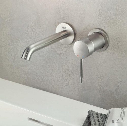 mitigeur mural lavabo grohe essence taille m
