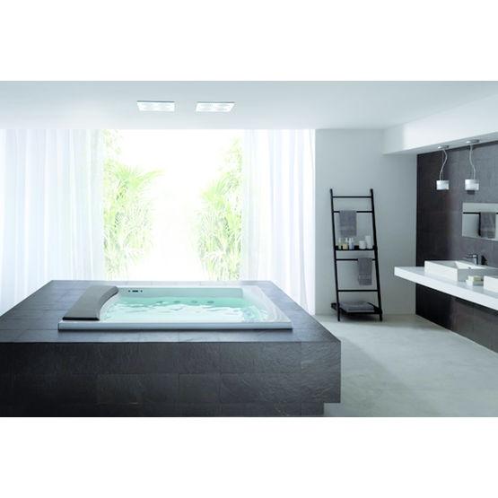 baignoire rectangulaire pour une ou deux personnes seaside t08