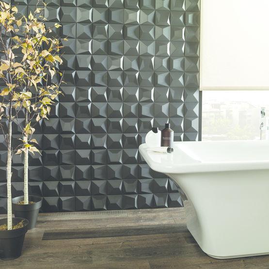 carreaux ceramiques pour salles de bains face negro