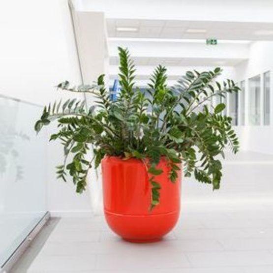 jardiniere en polyester arme diametre 90 cm x h90 cm poterie boboli flashy bob090 090f