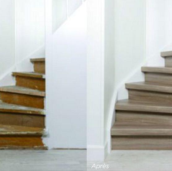 Maestro Kit De Renovation De Marche D Escalier En Mdf Batiproduits