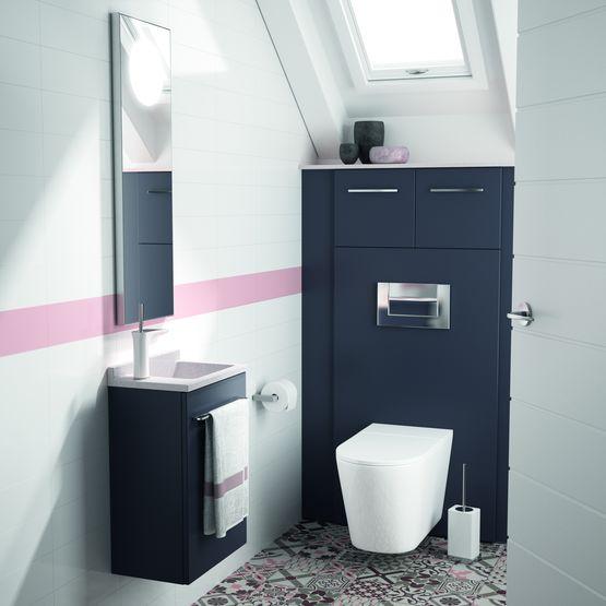 meuble pour wc suspendu ambiance bain
