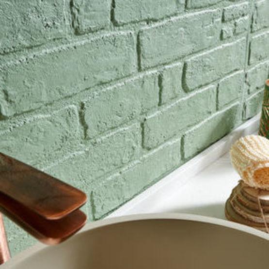 panneau de revetement mural pour salle de bain muretto vintage