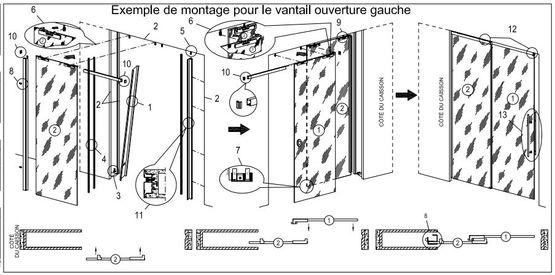 Essential Dual Et Remix Porte Coulissante Scrigno En Verre Batiproduits
