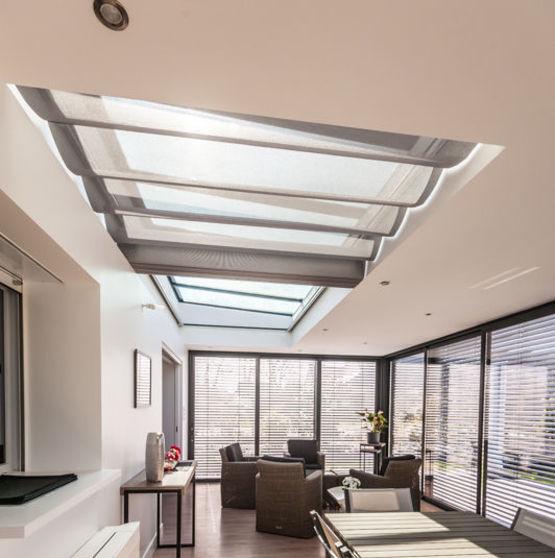 store anti chaleur velum coulissant pour verandas evada