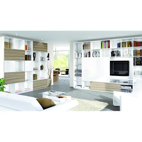 systeme coulissant pour portes de meubles de rangement slideline m