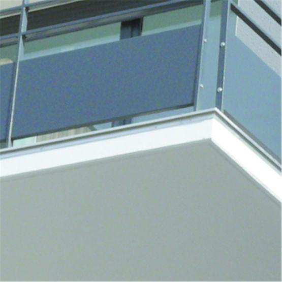 systeme de rejet d eau pour facade et nez de balcon dallnet goutte d eau