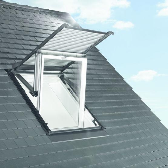 volet roulant electrique ou solaire pour fenetre de toit volet roulant electrique zro